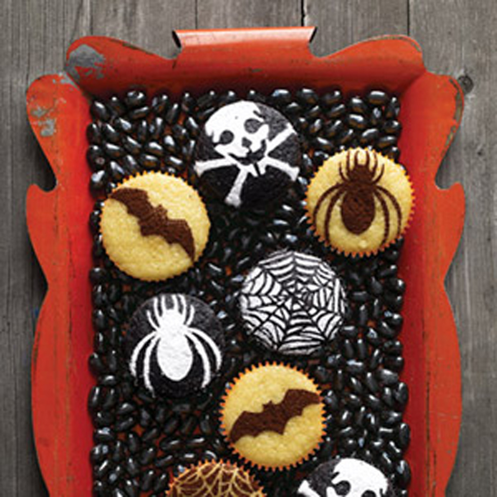 Easy Halloween Cake Decoration Ideas : Easy Halloween Cakes & Cupcakes - Halloween Cupcake ...
