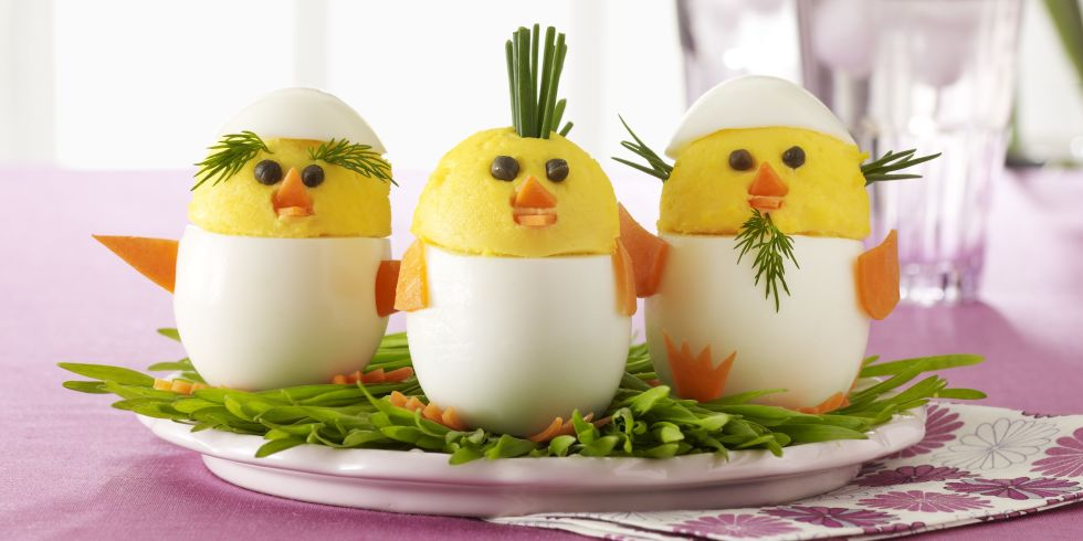 Deviled egg chicks recipe these little devils are sure to please on easter forumfinder Gallery