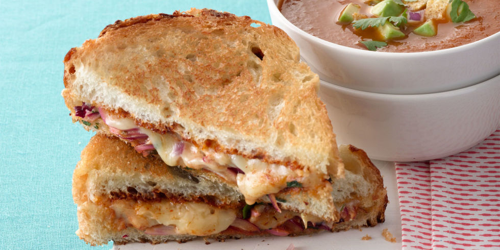 grilled cheese  Gooey Grilled Cheese