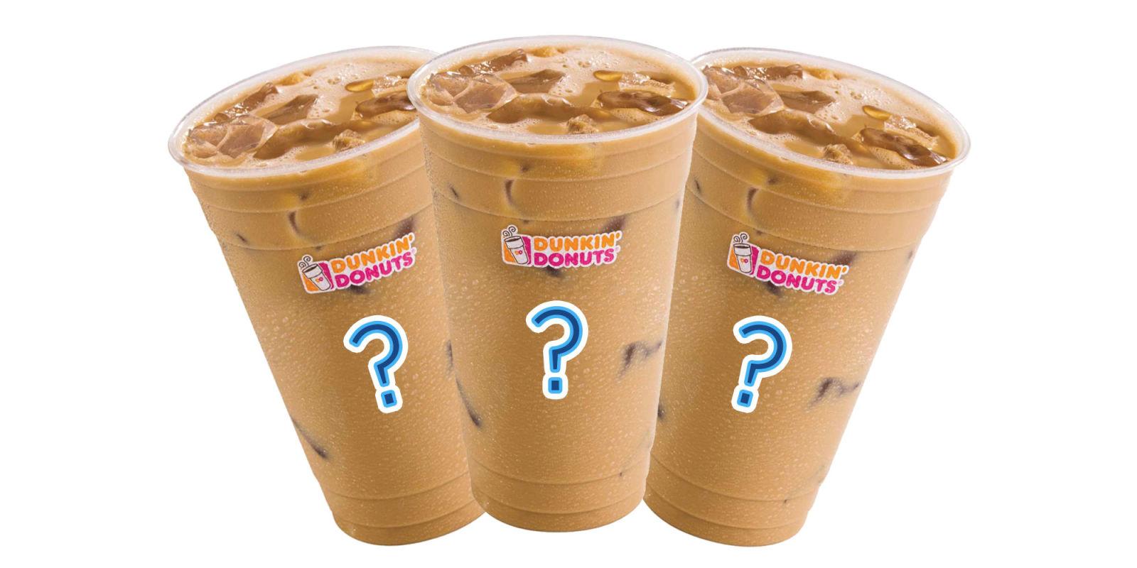 Caramel Hot Chocolate Dunkin Donuts