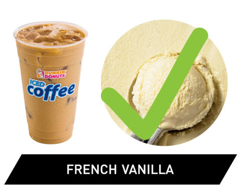 gallery 1429557674 delish dd frenchvanilla How Much Is A Large Iced Coffee At Dunkin Donuts