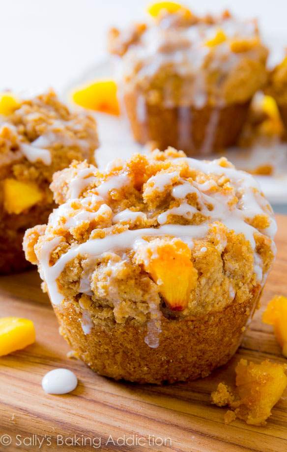 Peach recipes easy muffins