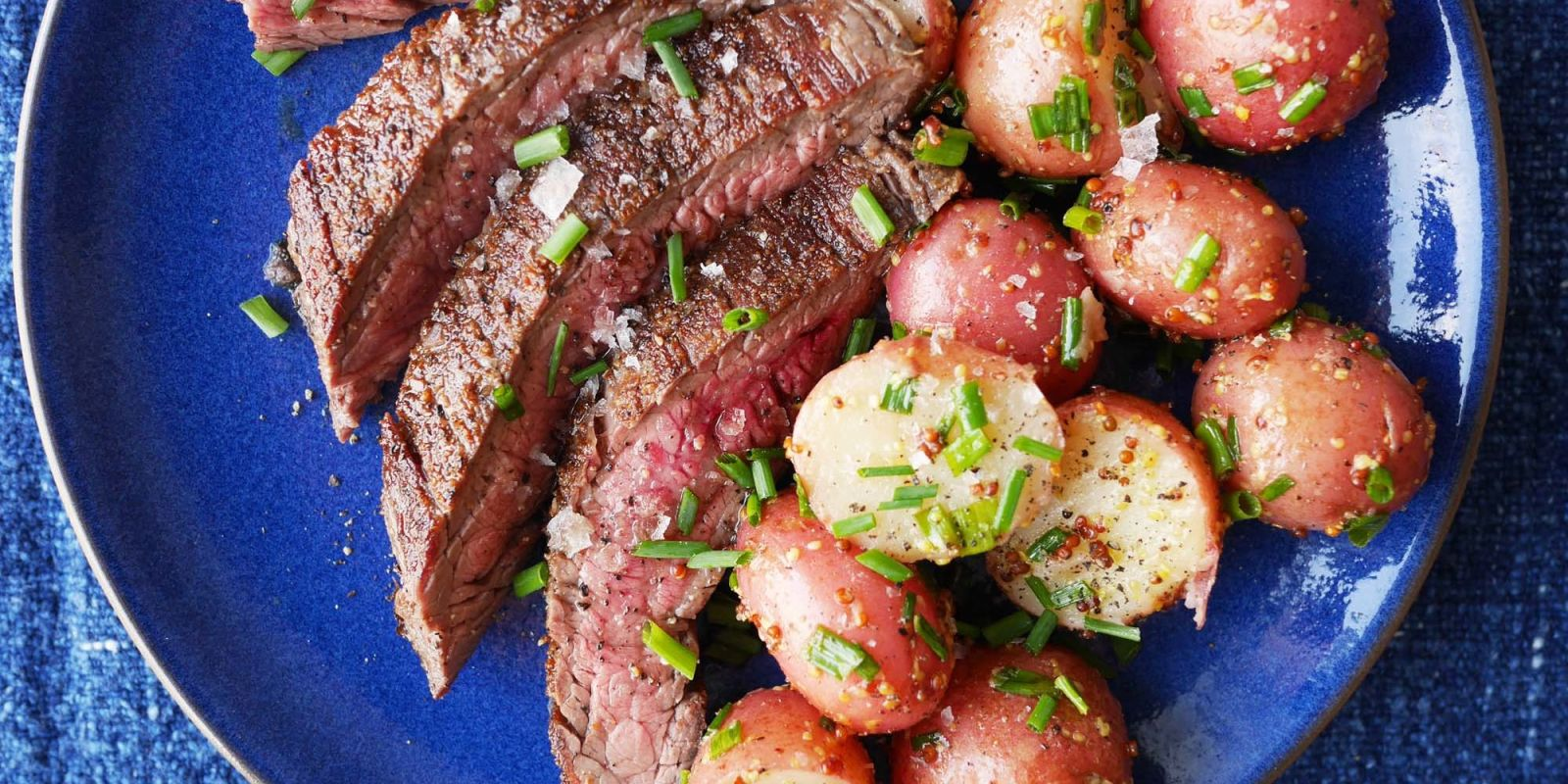Best Grilled Flank Steak And Potato Salad Recipe How To