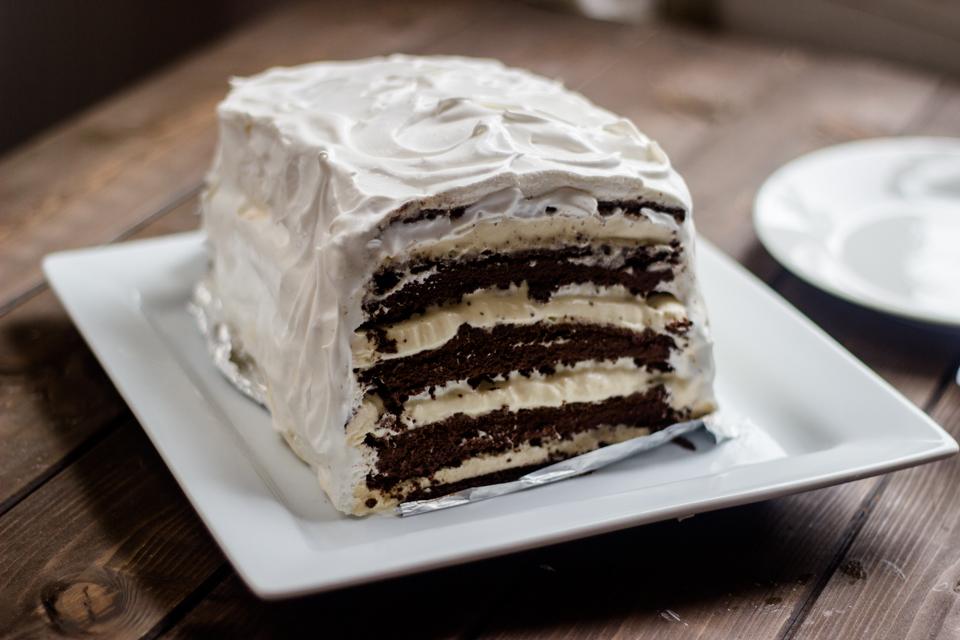 Cakes with ice cream recipe