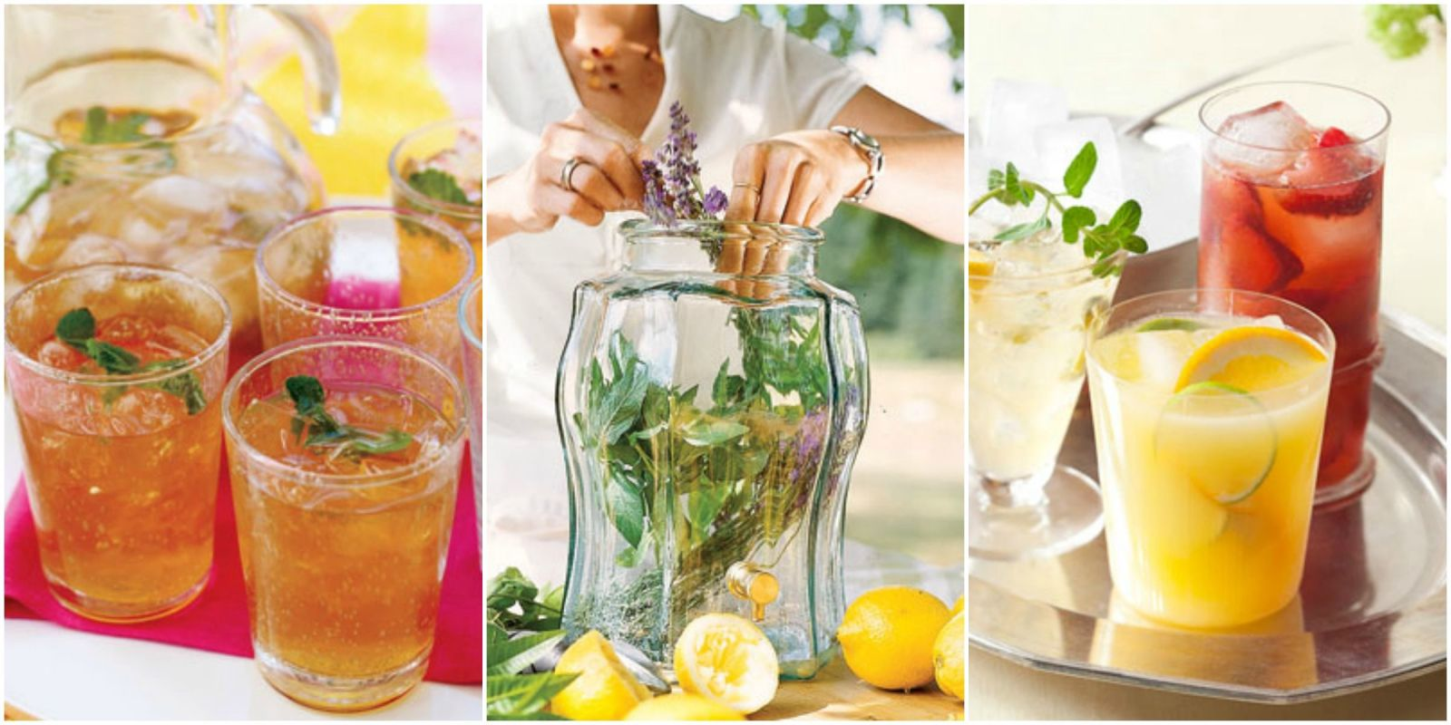 Iced Tea: 50 Recipes for Refreshing Tisanes, Infus