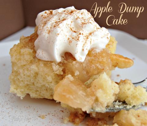 50 dump cake recipes easy dump cakes for Table 52 recipes