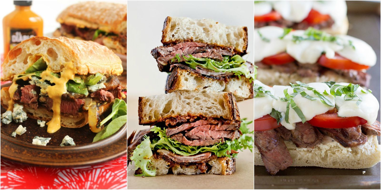 15 Easy Steak Sandwich Recipes - How to Make a Steak Sandwich