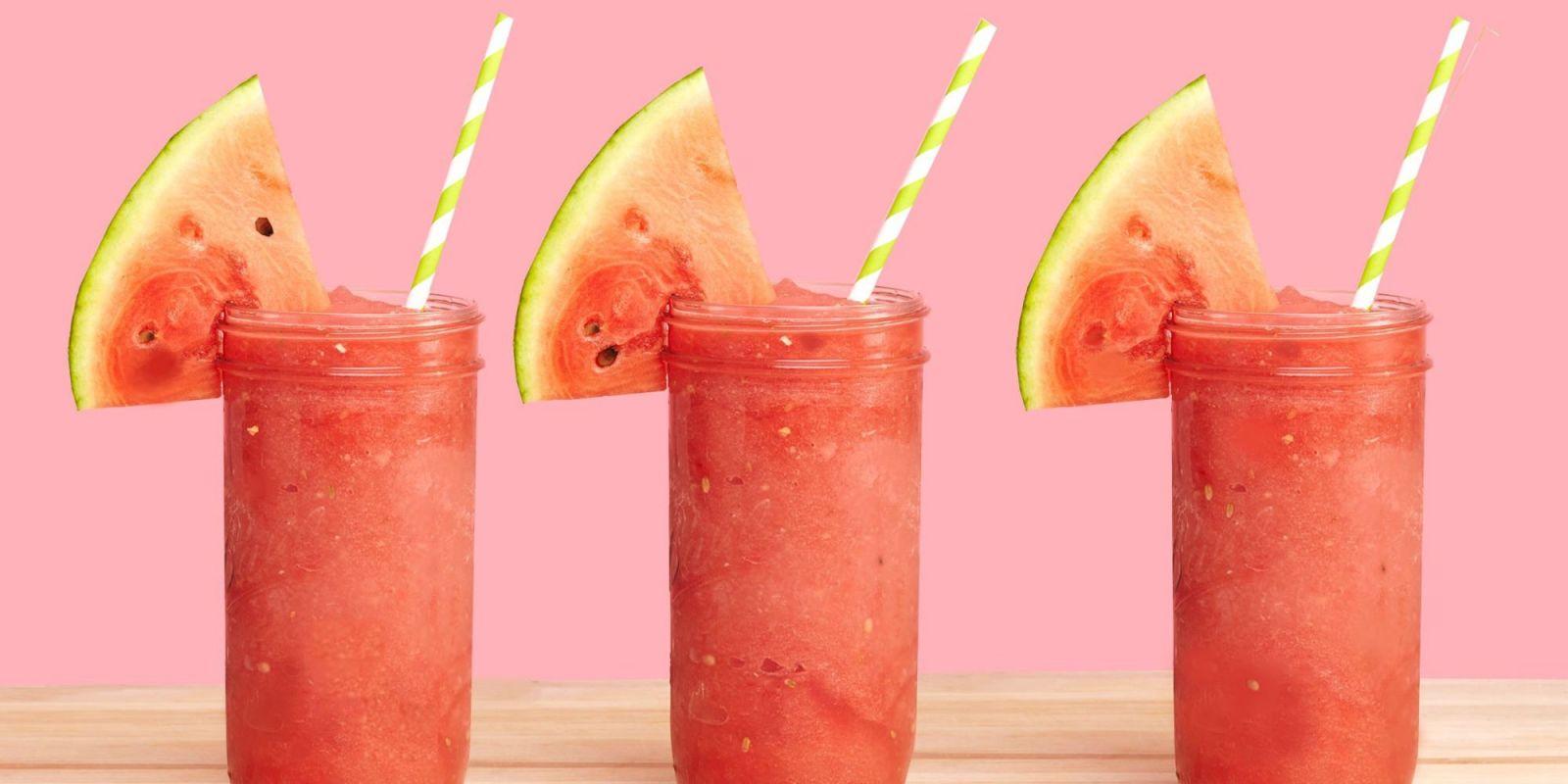 This Frozen Watermelon Daiquiri Is Basically Zero-Effort