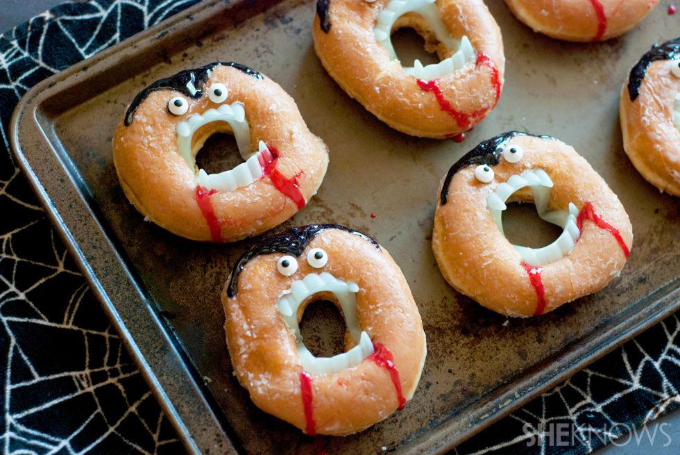 vampire themed food vampire inspired halloween snacks - Halloween Desserts For Parties