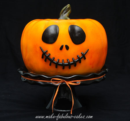 jack o lantern cake - Halloween Decorations Cakes