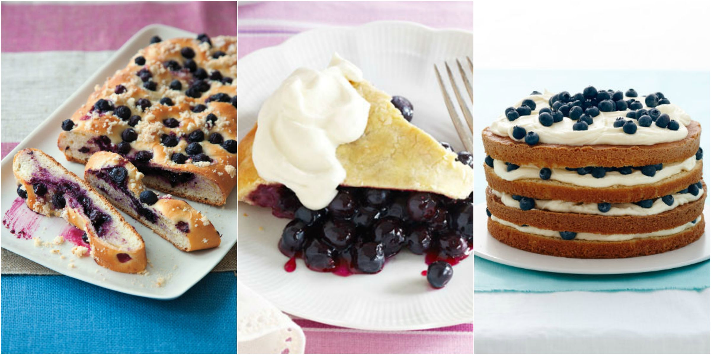 Blueberry Desserts - Recipes for Fresh Blueberry Desserts