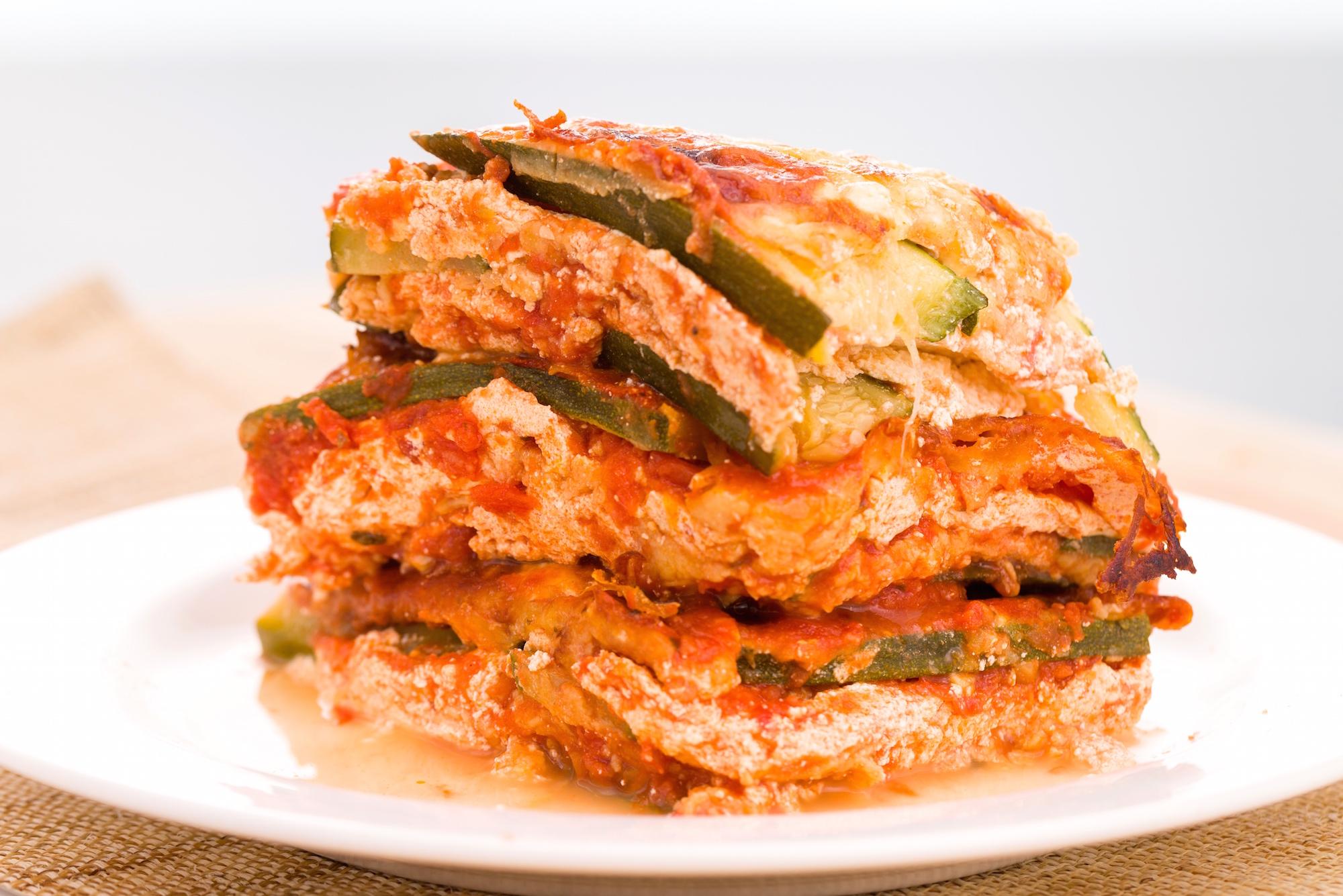 Best Zucchini Lasagna Recipe - How to Make Zucchini Lasagna
