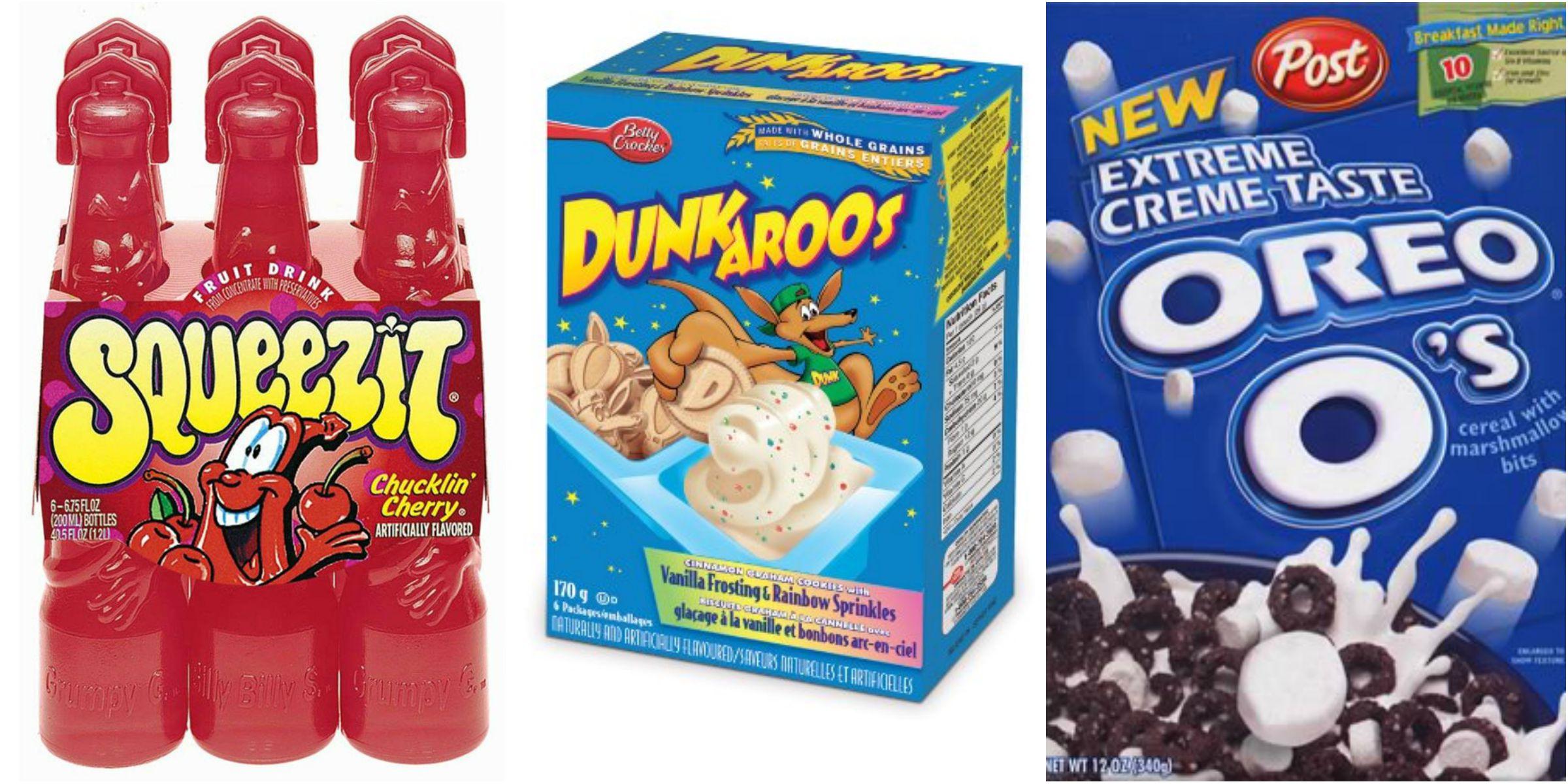 Nostalgic Childhood Snacks