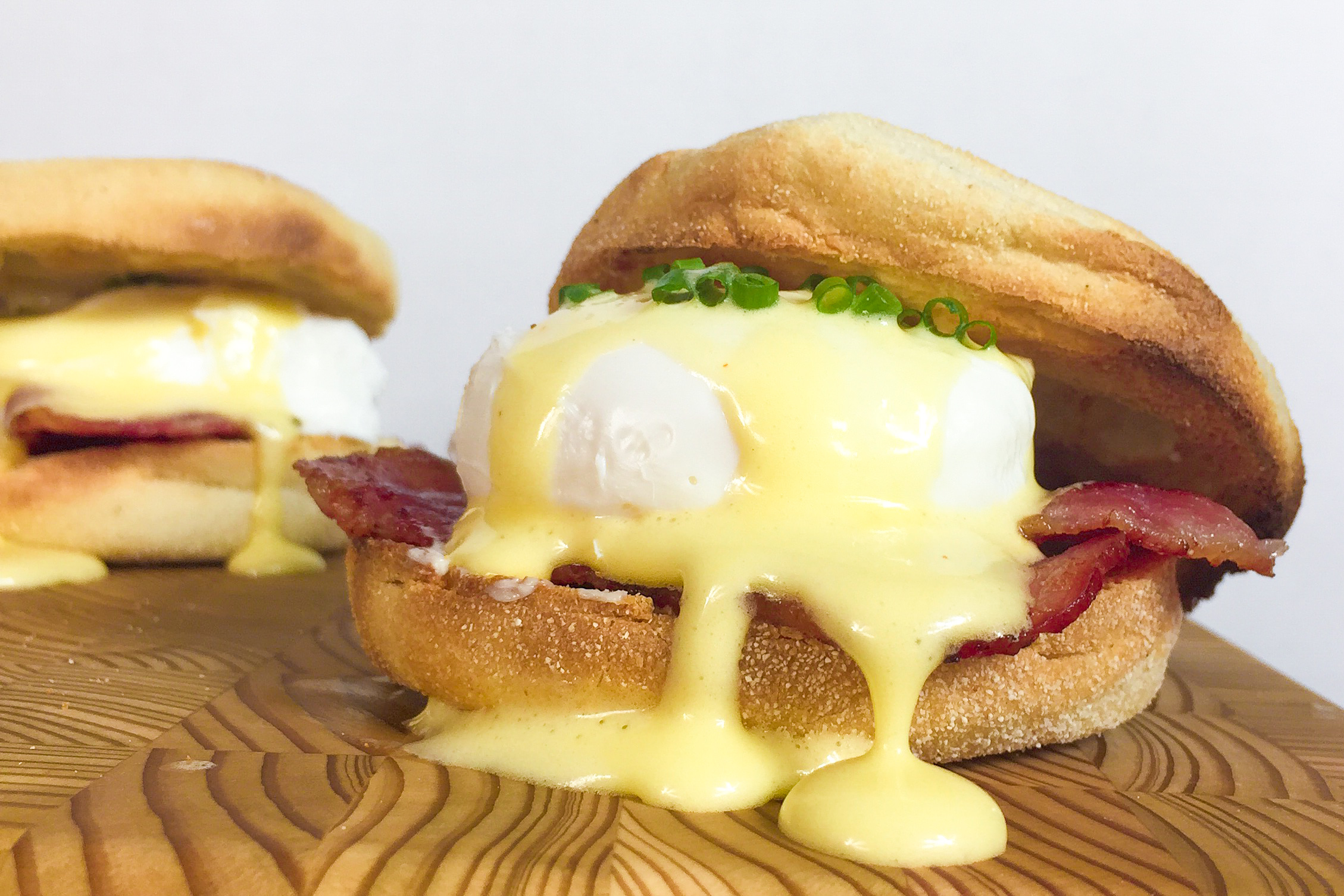 egg in a nest benedict sandwiches recipes dishmaps eggs benedict ...