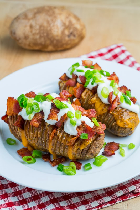 Baked Potato Recipes Fully Loaded Baked Potatoes