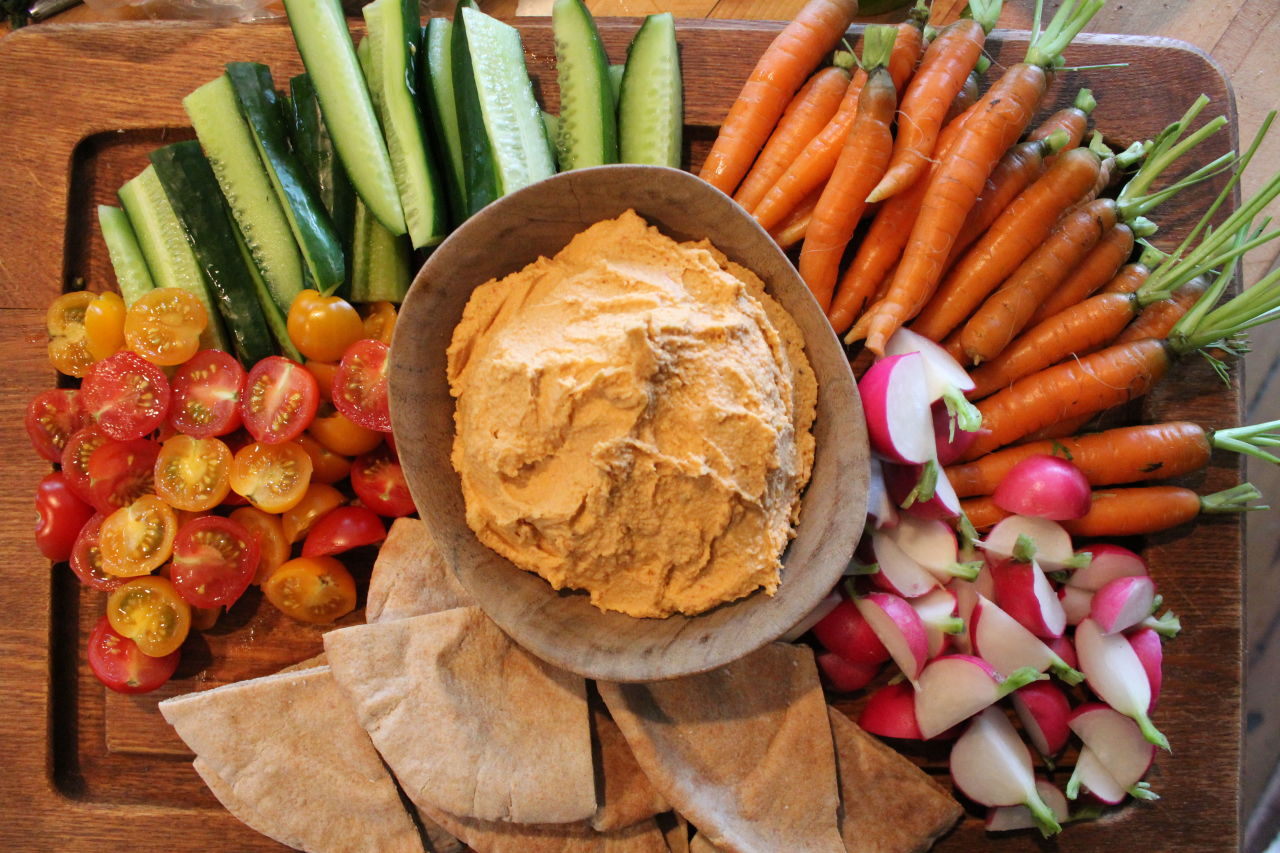10 Best Hummus Recipes How To Make Easy Homemade Hummus: ina garten appetizer platter