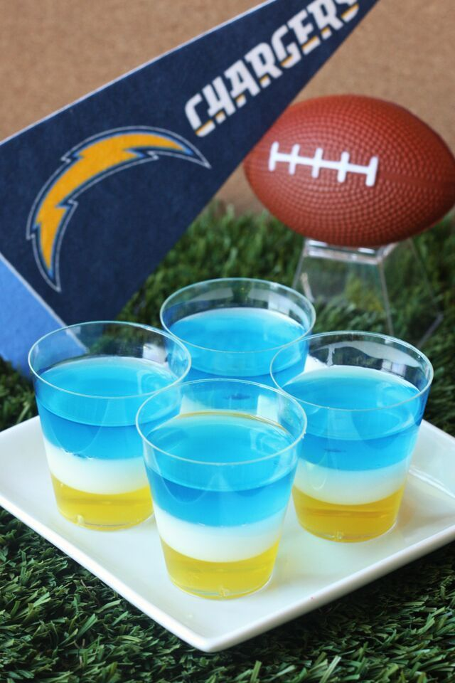 San Diego Chargers Jell O Shots