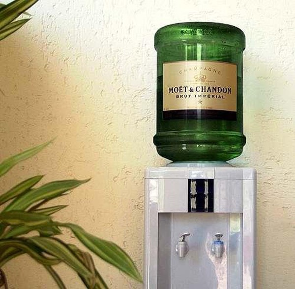 Turn Up at the Office With This Moët & Chandon Water Cooler-You ...
