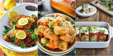 12 Best Breaded Chicken Recipes - How to Bread Chicken ...