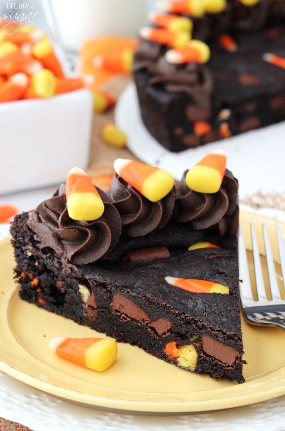Vanilla Birthday Cake Decorated With Chocolates