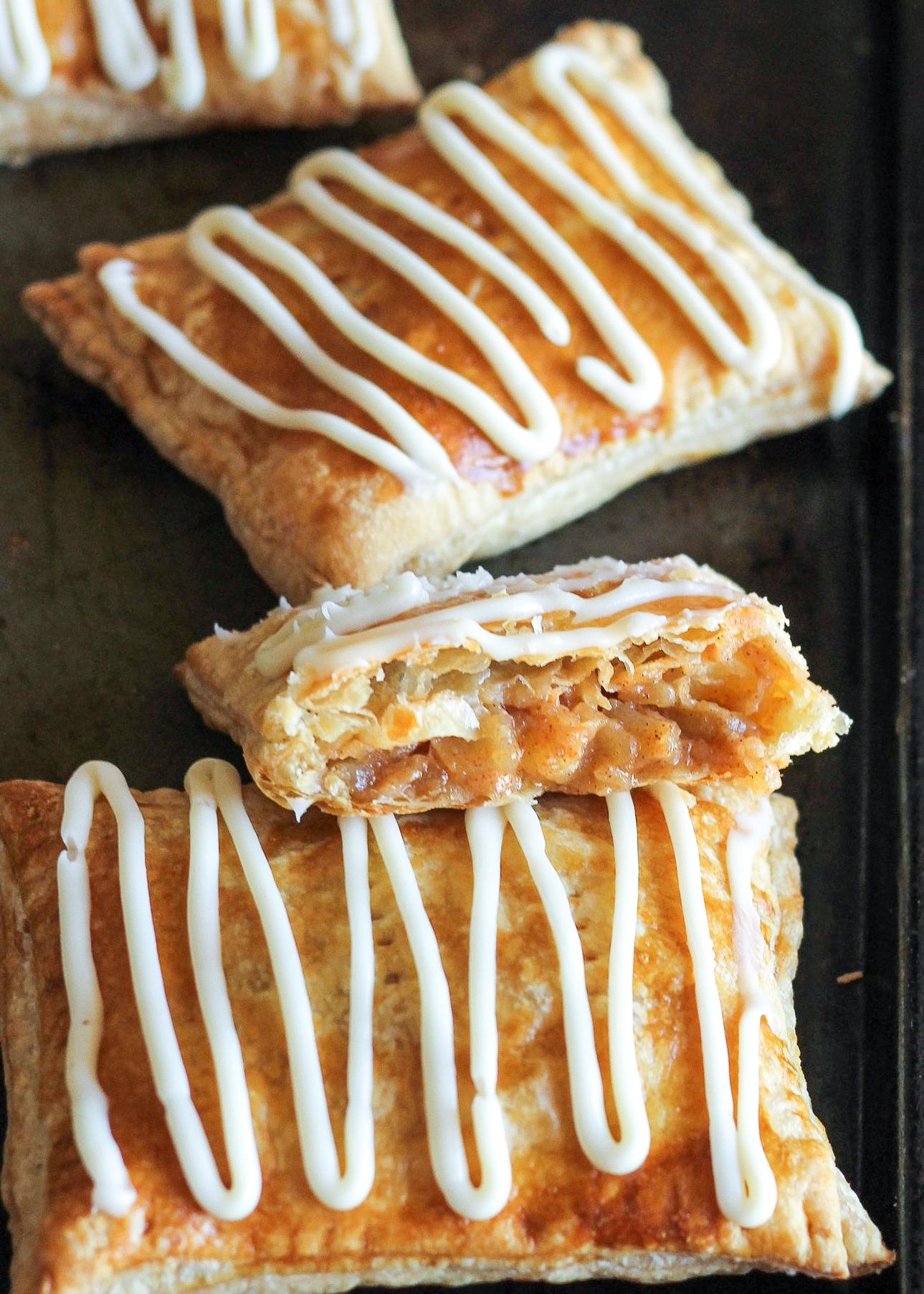 Caramel Apple Toaster Strudel - Caramel Apple Desserts
