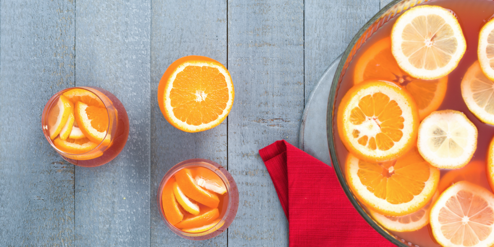 recipe: cranberry orange vodka punch [2]