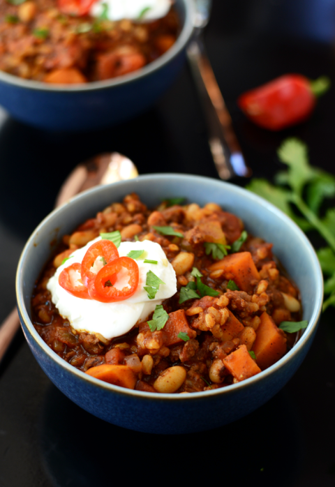It's so good, you won't even believe it's healthy. Get the recipe from Fit Foodie Finds.