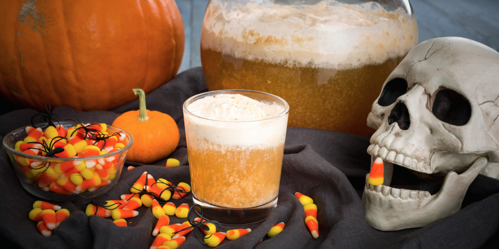 spiked fall punches - Spiked Halloween Punch Recipes