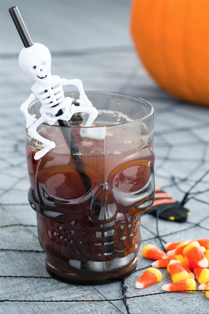 13 halloween punch recipes alcoholic fall punches delishcom - Halloween Party Punch Alcohol