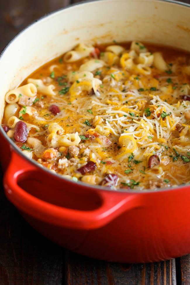 Easy chili dinner recipes