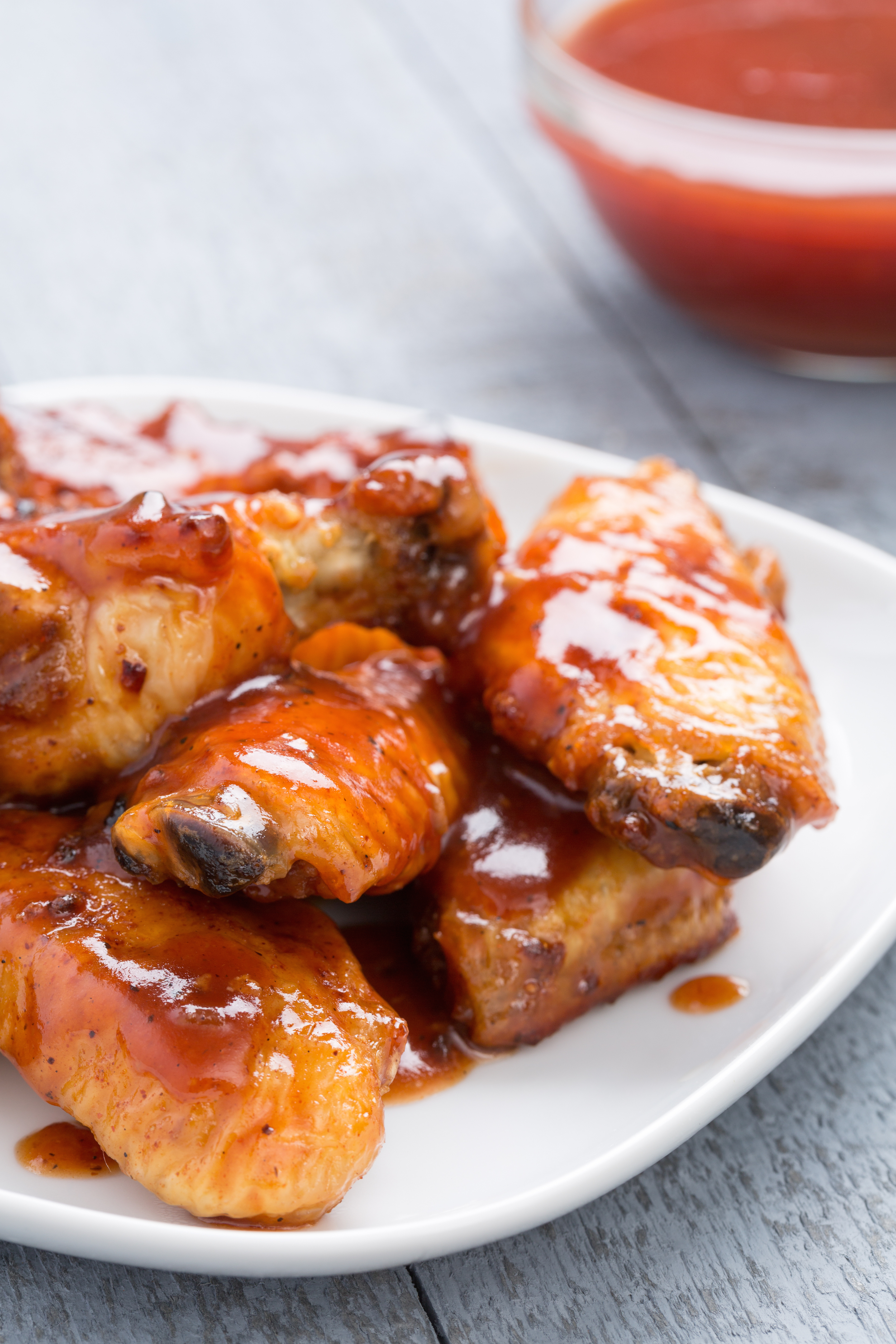 how to slow cook chicken wings