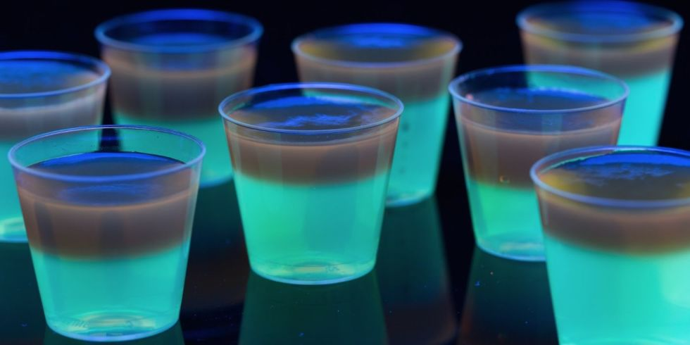 Glowing Jell-o Shots Recipe - Glow Party Ideas - Delish.com