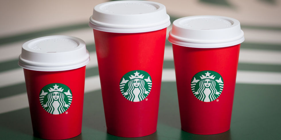 starbucks christmas controversy americans indifferent says online survey