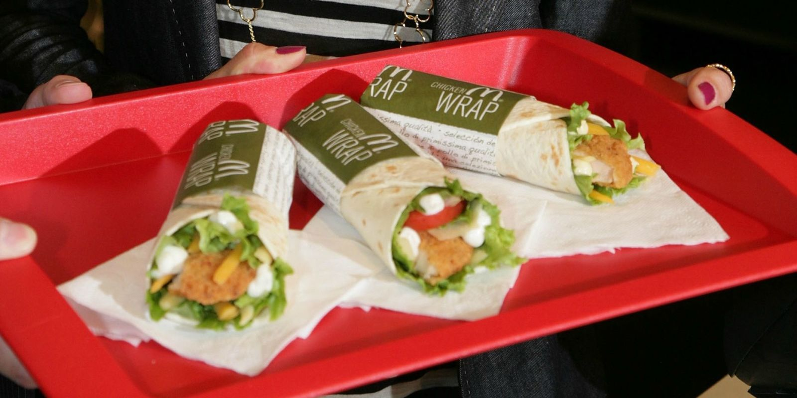 Dead Frog In Mcdonald S Chicken Wrap Delish Com