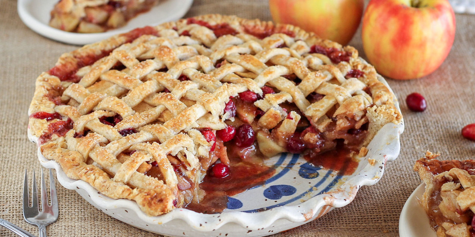Best Cranberry Apple Pie Recipe-How to Make Cranberry ...