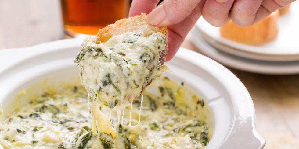 spinach artichoke dip boursin cheese