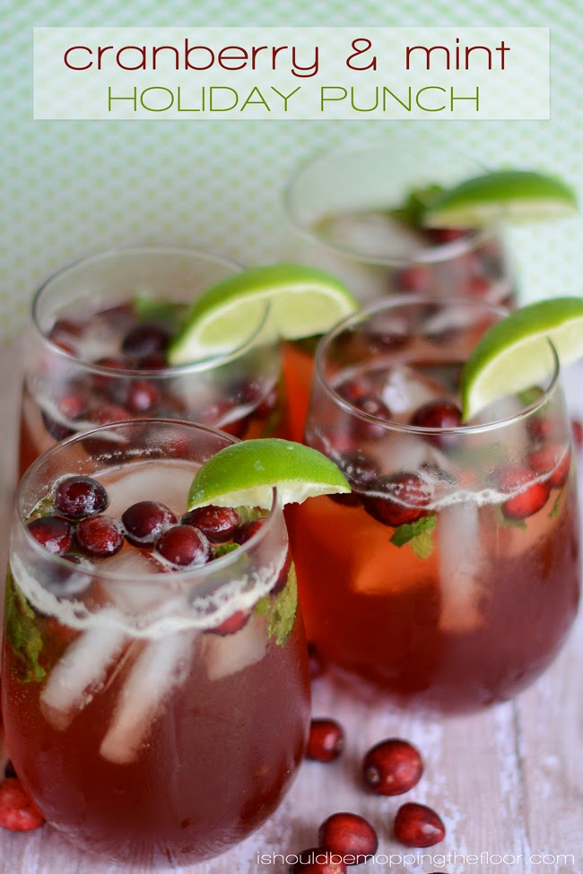 20+ Christmas Punch Recipes - Holiday Party Punch with Alcohol ...
