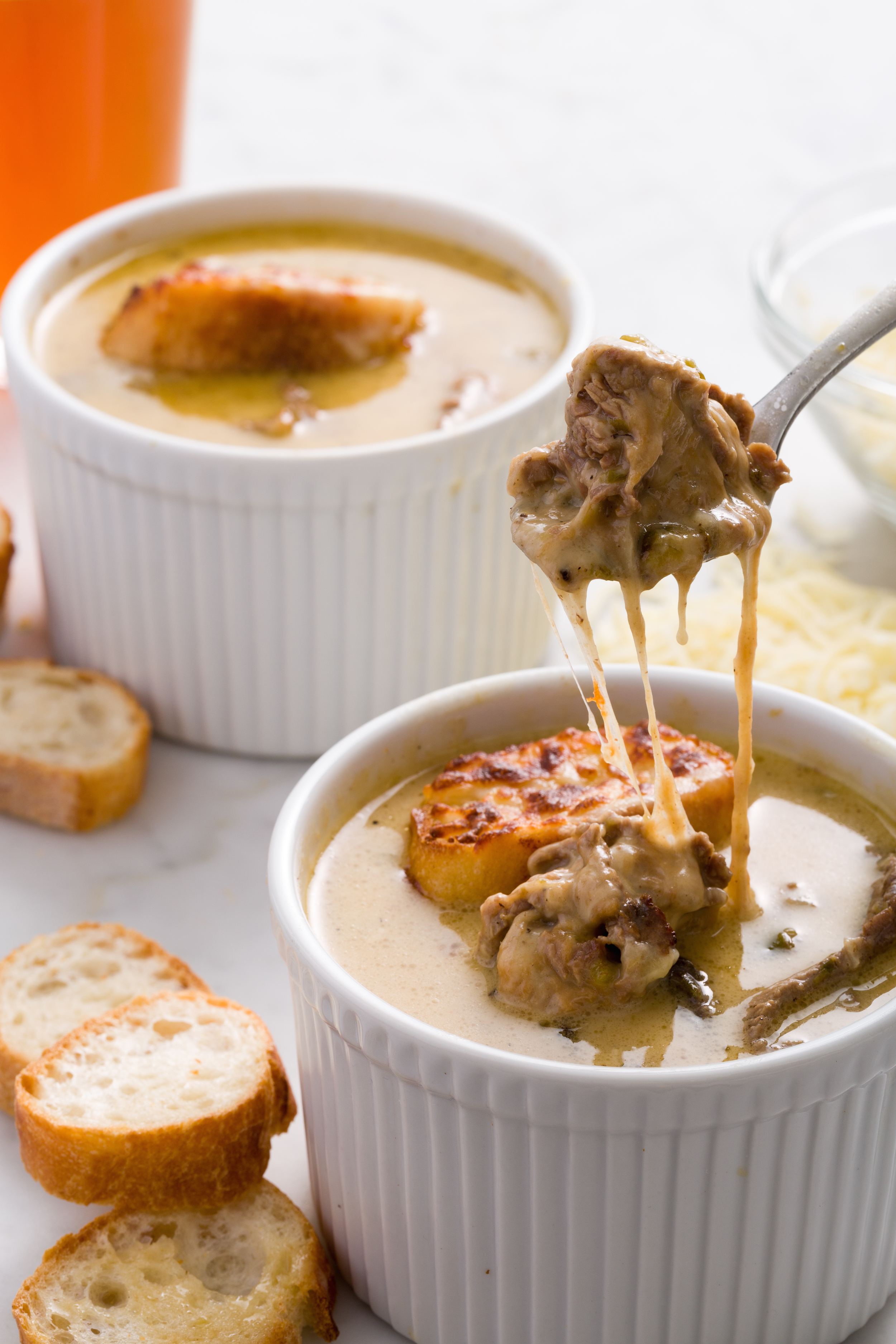 ... Philly Cheesesteak Soup Recipe - How to Make Philly Cheesesteak Soup