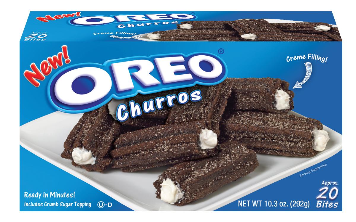 New Oreo Churros - Oreo Cookies