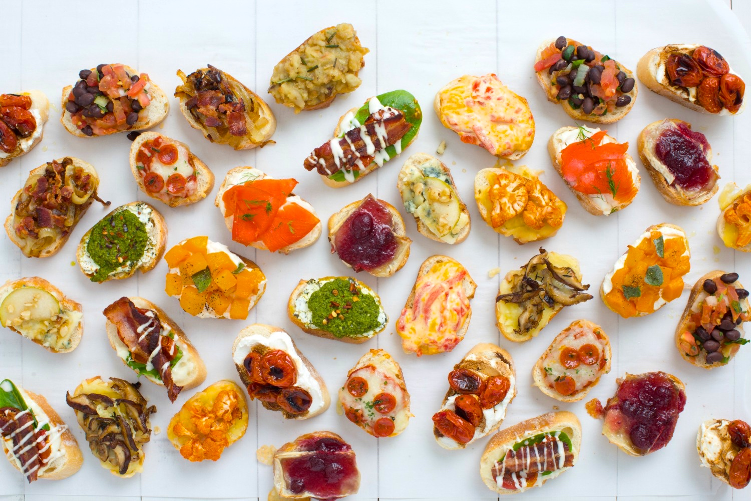 14 crostini and toppings recipes crostini topping ideas for Canape toppings ideas