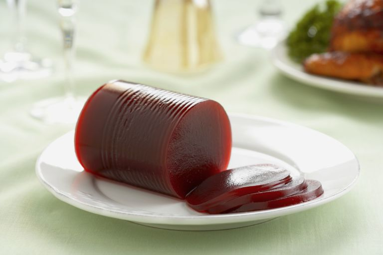 Canned Cranberry Sauce