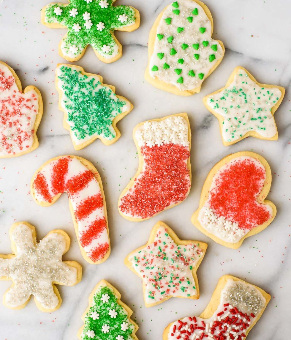 60+ Best Christmas Sugar Cookies - Recipes for Easy Holiday Sugar ...