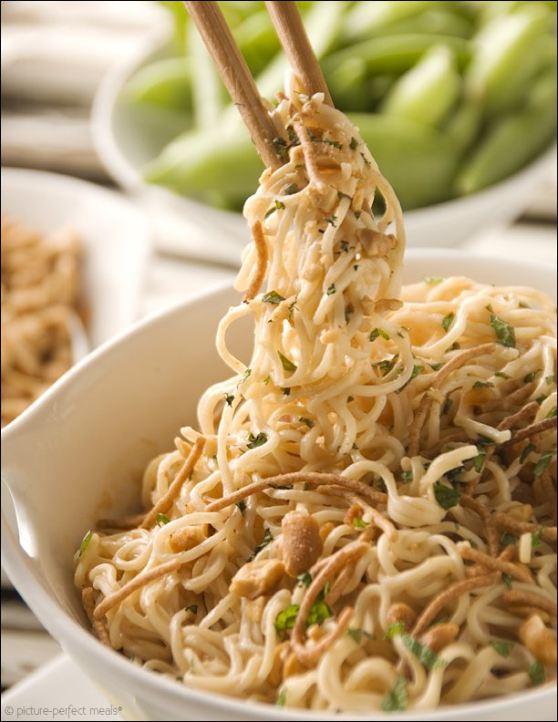 Peanut Noodles with Pork Recipe : Food Network Kitchen : Food Network