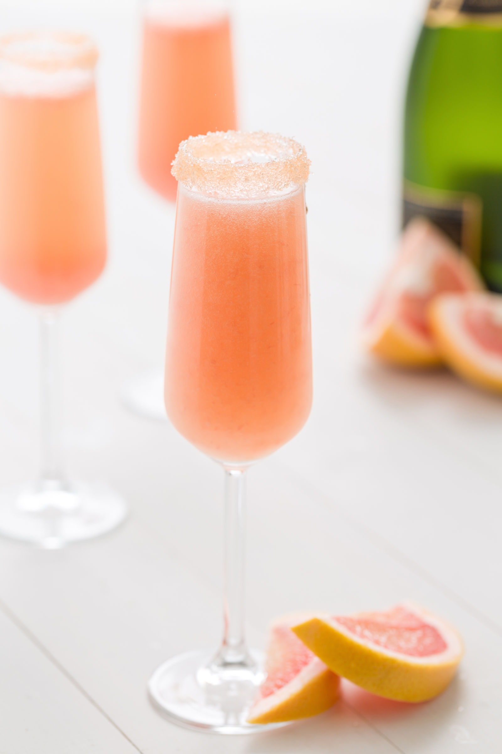 Best grapefruit mimosas recipe how to make grapefruit for How many mimosas per bottle of champagne