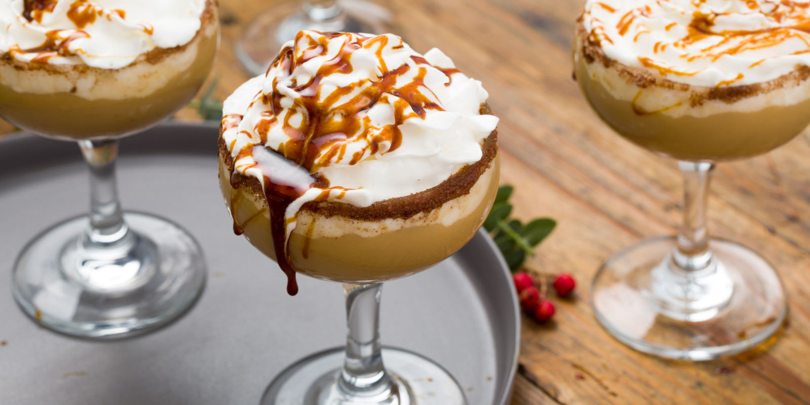 How To Make A Gingerbread Eggnog White Russian Your