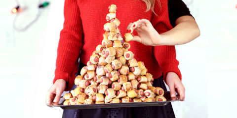 How to Make a Pigs in a Blanket Christmas Tree