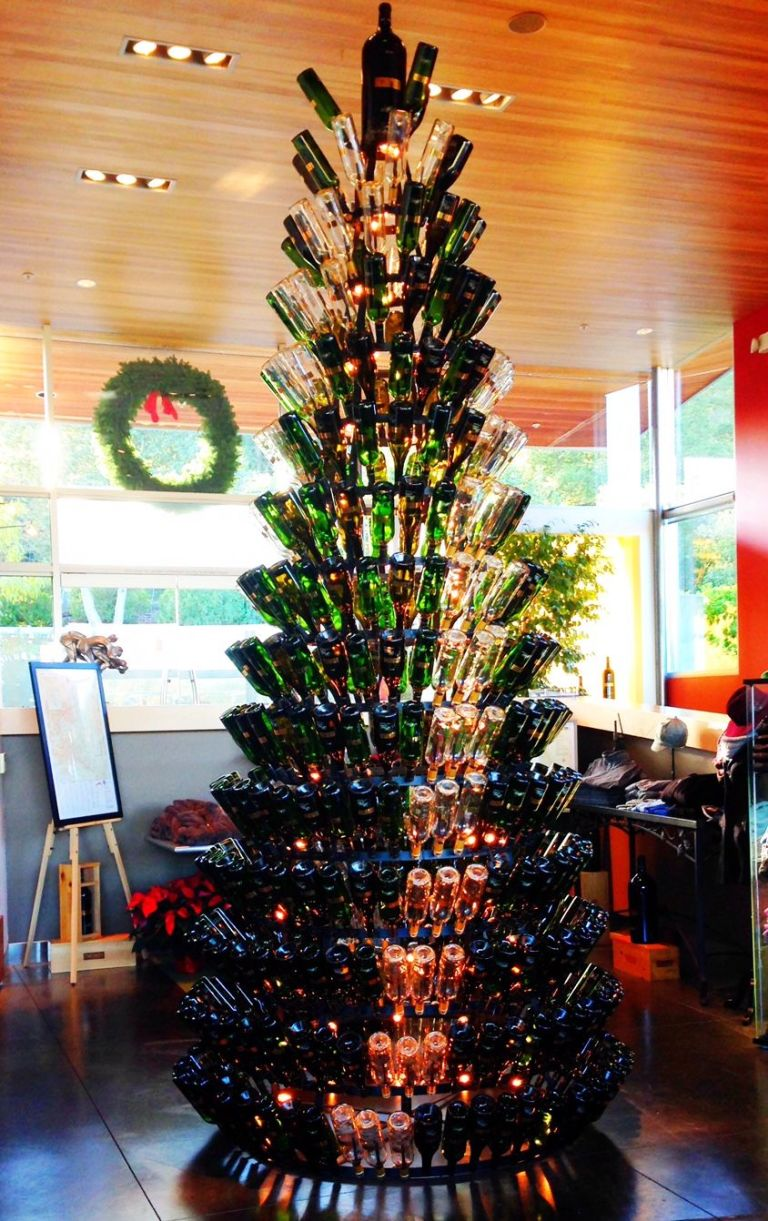 Wine Bottle Tree - Delish.com
