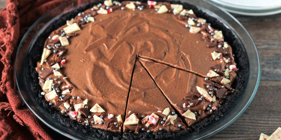 Best Chocolate Peppermint Pie Recipe-How to Make Chocolate ...