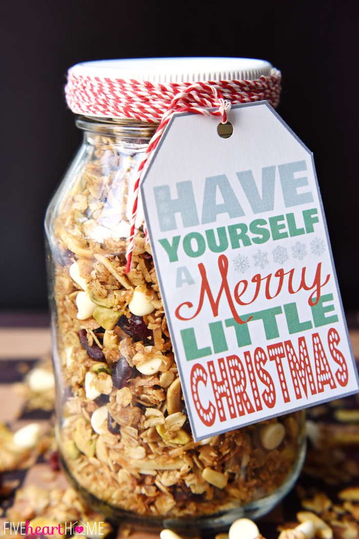 Mason jar christmas food gifts recipes for in a