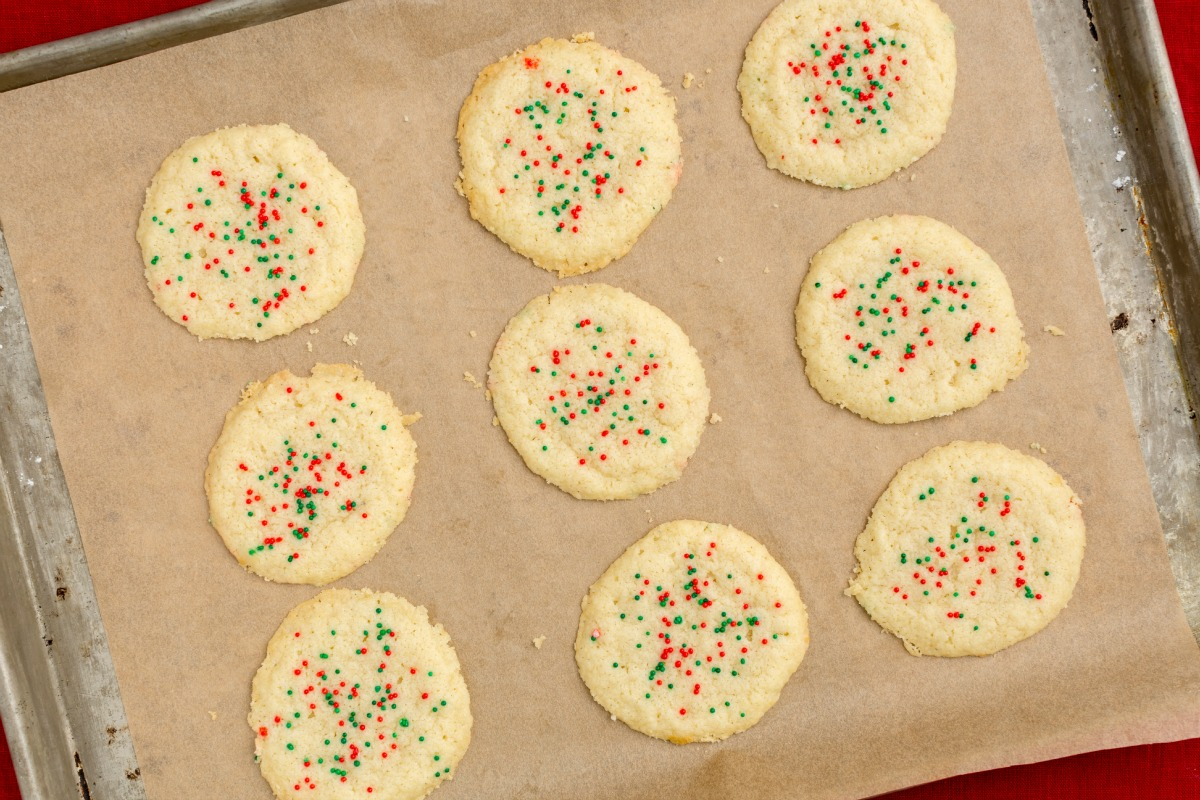 3-Ingredient Sugar Cookies Recipe